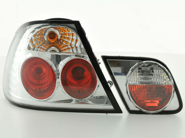 Rear lights BMW 3er Coupe Typ E46 Yr. 99-02 chrome
