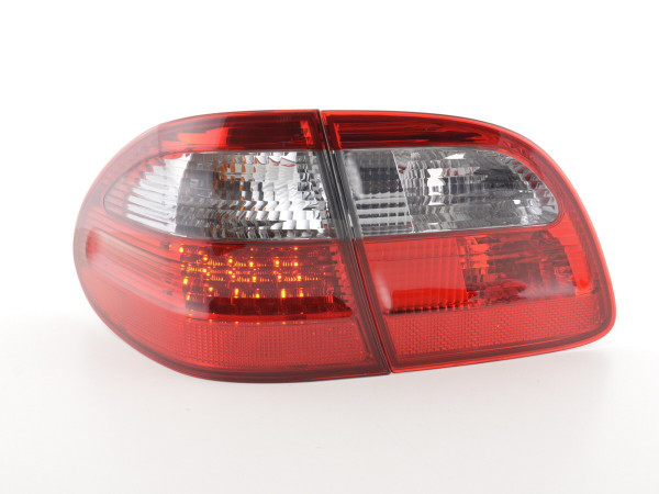 Taillights LED Mercedes E-Class Combi (210) Yr. 99-03 red/black