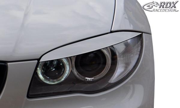 RDX Headlight covers BMW 1-series E81 / E82 / E87 / E88