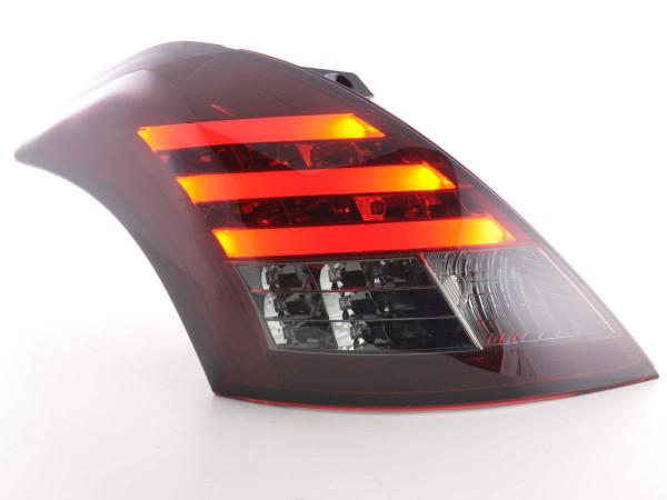 Led Taillights Suzuki Swift Yr. 2011- red/black