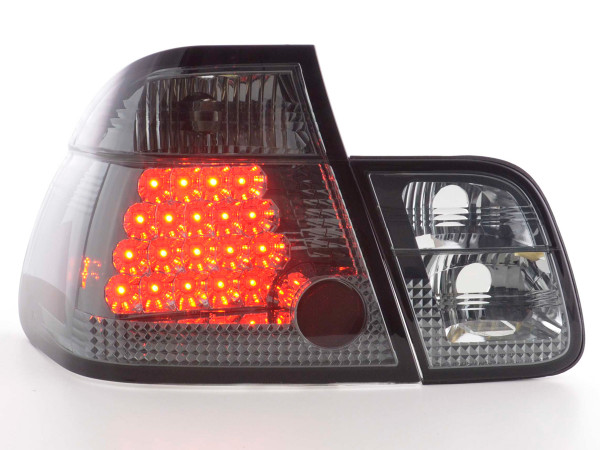 Led Rear lights BMW serie 3 saloon type E46 Yr. 01-05 black
