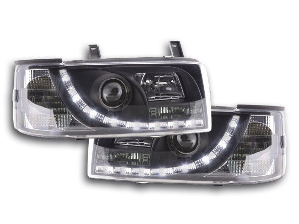 Daylight headlight VW Bus type T4 Yr. 90-03 black