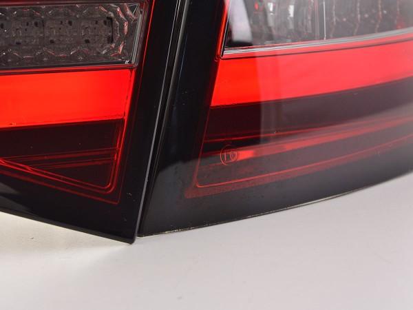 LED rear lights Lightbar Audi A6 4F saloon Yr. 08-11 red/smoke