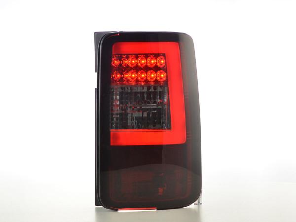 LED taillights set Lightbar VW Caddy (2K) 03-15 red / smoke