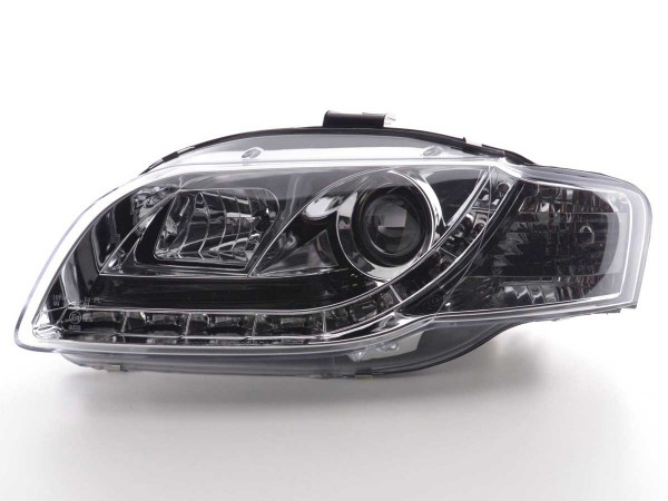 Daylight headlight Audi A4 type 8E Yr. 05-07 chrome