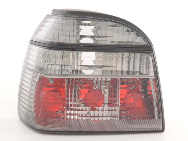 Rear lights VW Golf 3 type 1HXO Yr. 92-97 black