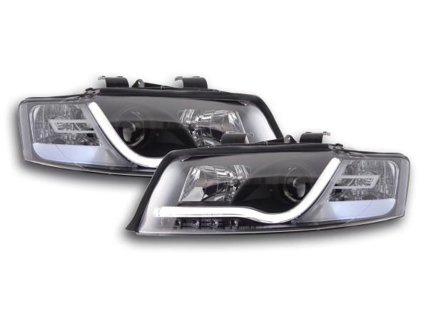 Daylight headlight Set Audi A4 type 8E Yr. 01-04 black RHD