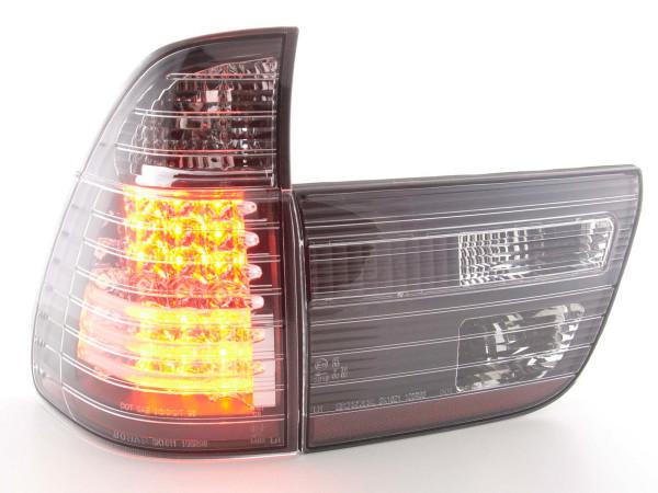 Led Taillights BMW X5 type E53 98-02 black