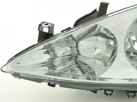 Spare parts headlight left Peugeot 307 Yr. 01-05