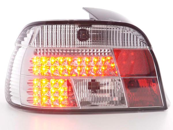 Led Taillights BMW serie 5 E39 saloon Yr. 95-00 chrome