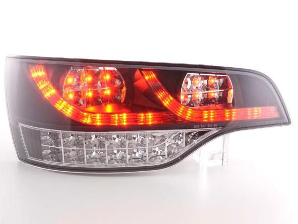 Led Taillights Audi Q7 type 4L Yr. 06- black