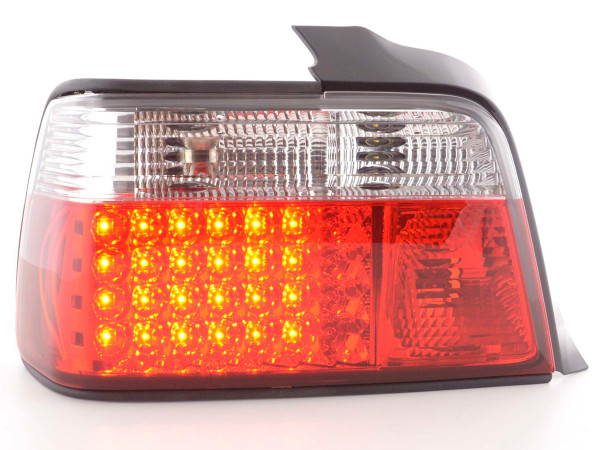 Led Taillights BMW serie 3 saloon type E36 Yr. 91-98 red/white