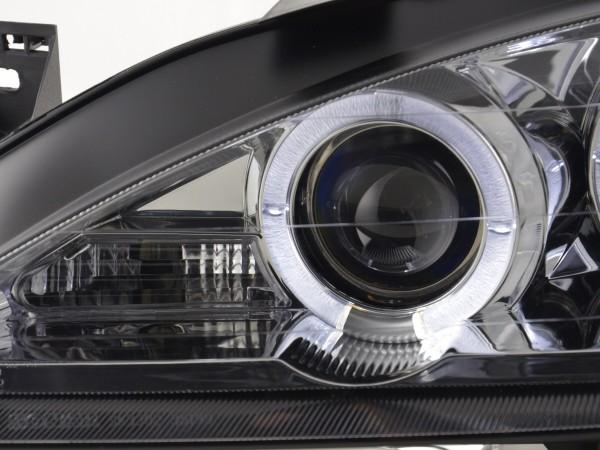 headlight Renault Megane 1 3/5-door. Yr. 99-02 chrome