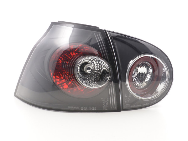 Taillights VW Golf 5 type 1K Yr. 03-08 black