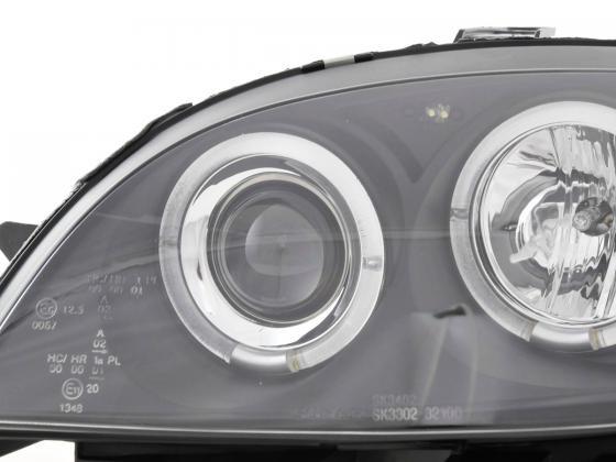 headlight Citroen Saxo Yr. 00-02 black