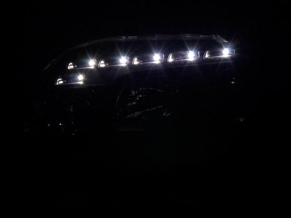 Daylight headlight VW Touran type 1T / VW Caddy type 2K black