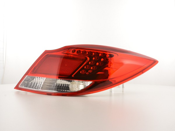 Led Taillights Opel Insignia saloon red/clear