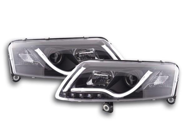 Daylight headlight Set Audi A6 type 4F Yr. 04-08 black RHD
