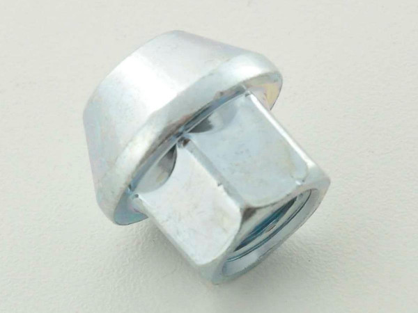 Nut, 1 / 2 UNF 34mm short head silver