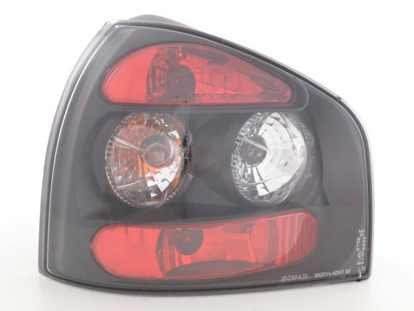 Taillights Audi A3 type 8L Yr. 96-02 black