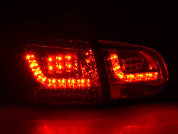 Led Rear lights VW Golf 6 type 1K Yr. 2008-2012 chrome with led indicator