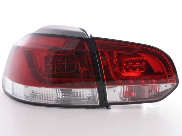 Led Taillights VW Golf 6 type 1K Yr. 2008-2012 clear/red