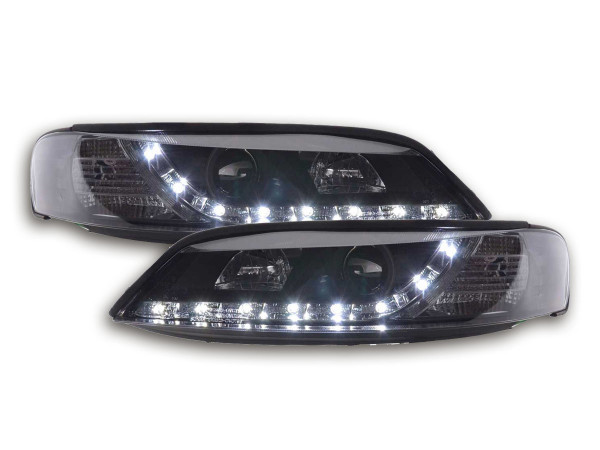 headlight Daylight Opel Vectra B Yr. 96-99 black