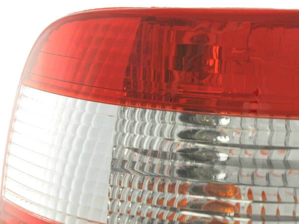 Taillights Audi A4 saloon type B5 Yr. 95-00 red white