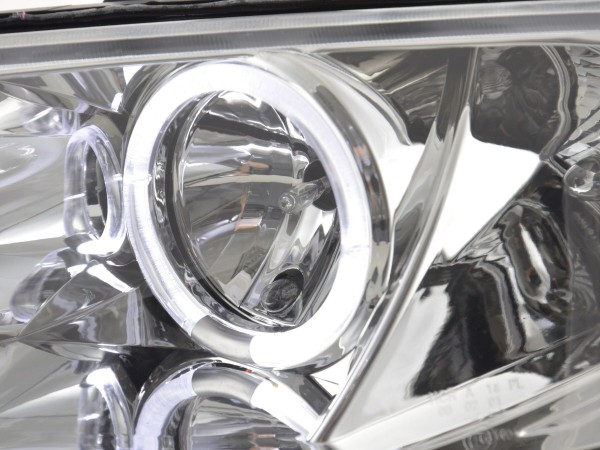 headlight Renault Megane 2 3/5-door. Yr. 03-06 chrome