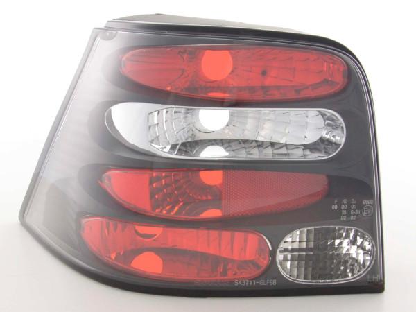 Taillights VW Golf 4 type 1J Yr. 98-02 black