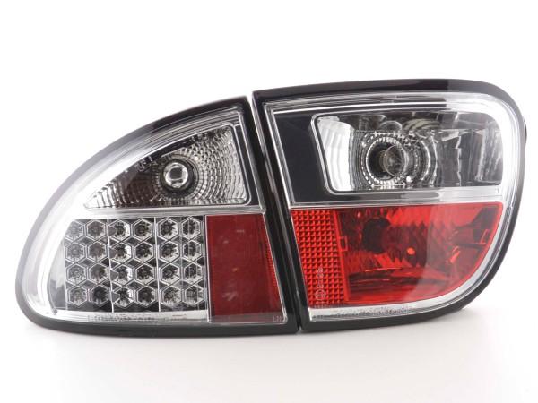 Led Taillights Seat Leon type 1M Yr. 1999-2005 chrome
