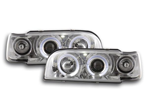 Headlight Volvo 850 Yr. 92-97 chrome RHD