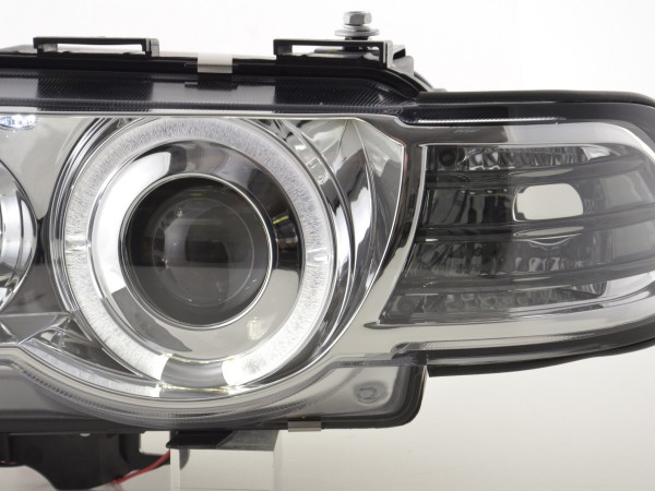 headlight BMW serie 7 type E38 Yr. 99-02 chrome