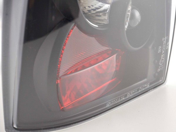 Taillights Opel Vectra A Yr. 89-95 black