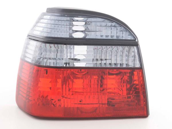 Taillights VW Golf 3 type 1HXO 92-97 black red