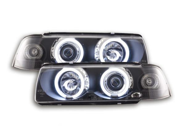 Angel Eye headlight CCFL BMW serie 3 E36 Coupe/Cabrio Yr. 92-98 black