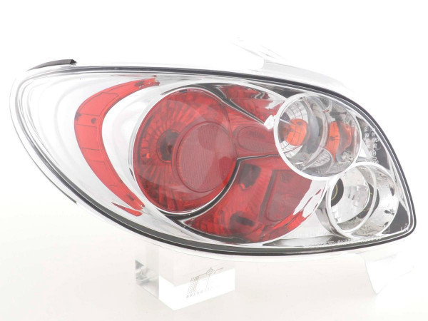 Taillights Peugeot 206 Yr. 98 - chrome