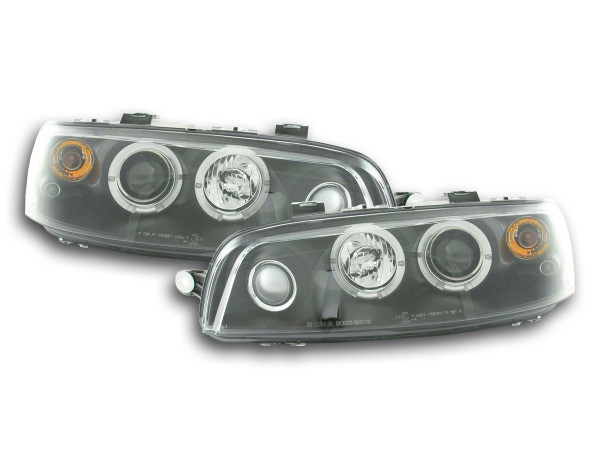 headlight Fiat Punto 2 type 188 Yr. 99-02 black