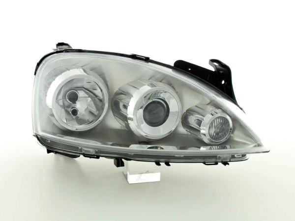 Spare parts headlight right Opel Corsa C Yr. 03-06