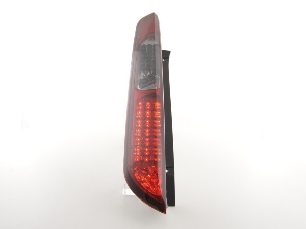 Led Taillights Ford Focus 2 5-dr Yr. 04-08 red/black