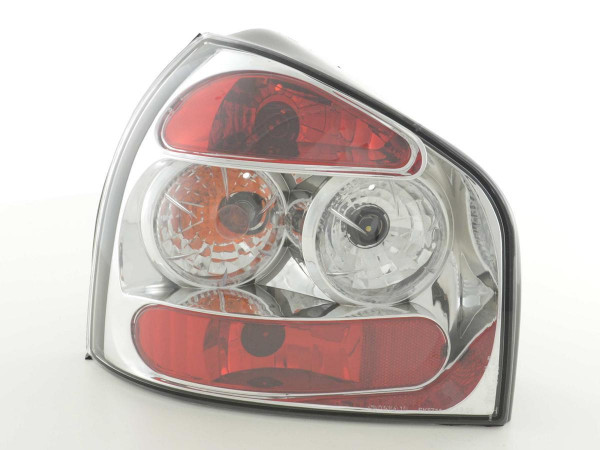 Taillights Audi A3 type 8L Yr. 96-00 chrome