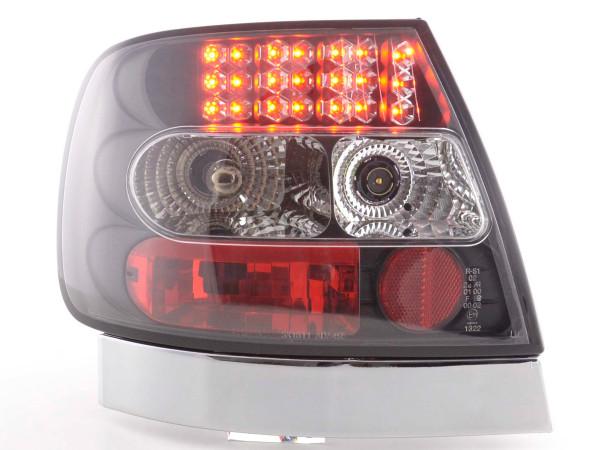 Led Taillights Audi A4 saloon type B5 Yr. 95-00 black