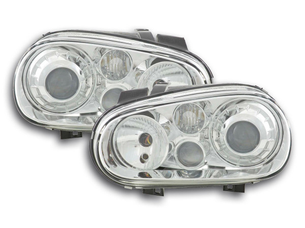 headlight VW Golf 4 type 1J Yr. 98-03 chrome