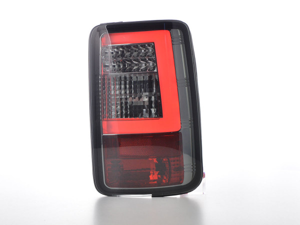 LED taillights set Lightbar VW Caddy 2K 03-15 smoke