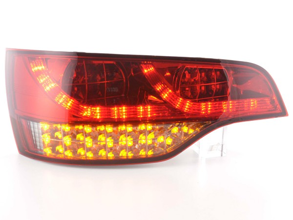 Led Taillights Audi Q7 type 4L Yr. 06- red/black