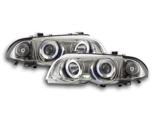 headlight BMW serie 3 saloon type E46 Yr. 98-01 chrome