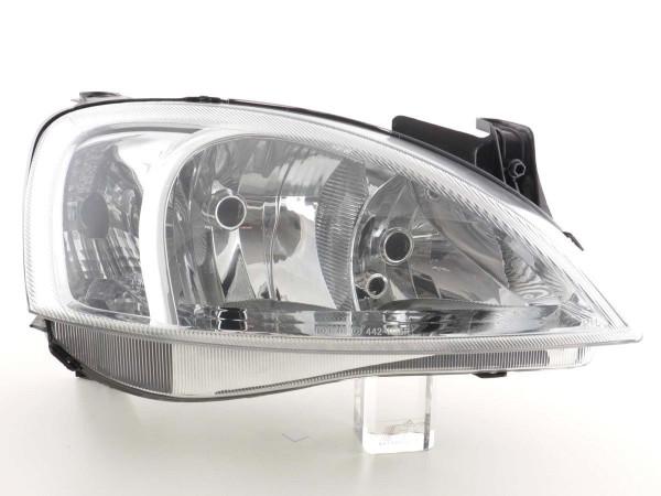 Spare parts headlight right Opel Corsa C Yr. 00-03 / Combo C Yr. 01-05
