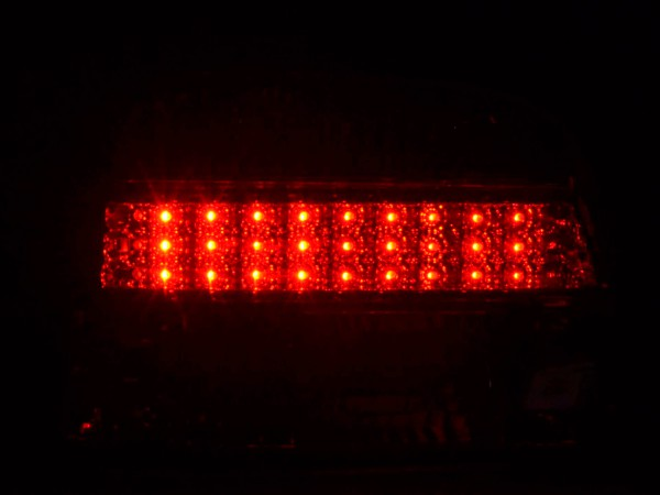 Led Taillights BMW serie 5 saloon type E39 Yr. 95-00 clear/red