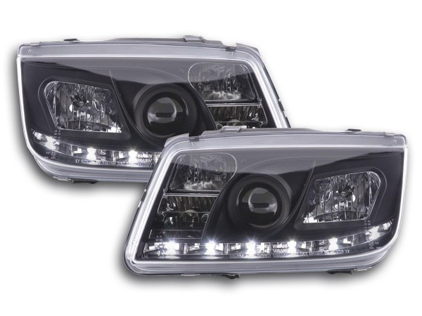 Daylight headlight VW Bora type 1J Yr. 99-04 black