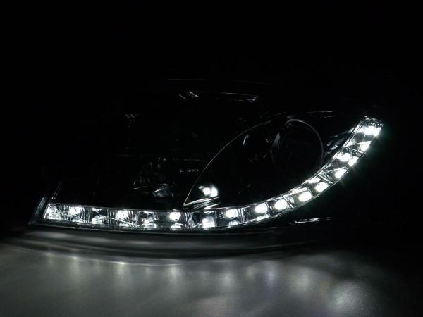 DRL Daylight headlight Audi TT type 8N Yr. 99-05 chrome